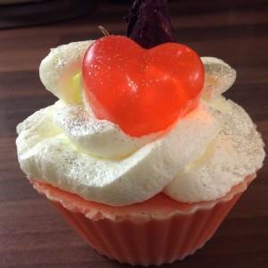 Rose Red cupcake