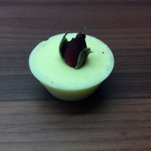 Cream RoseMini Cupcake