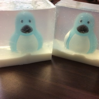 Two Winter Wonderland soaps