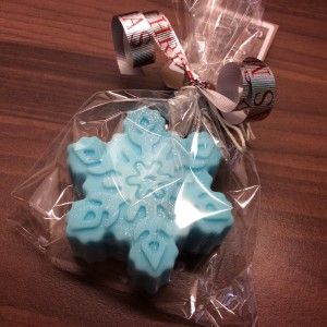 Frozen Snow Cookie soap